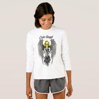 T-shirt Douille de concurrent du Sport-Tek des filles