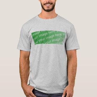 T-shirt Douille d'équipage de Twofer longue (adaptée)