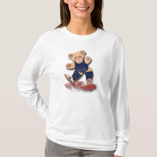 T-shirt Douille des dames aa Hoody d'ours de nounours