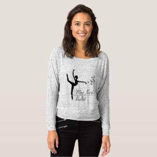 T-shirt Douille des femmes de programme de ballet d'Aviano