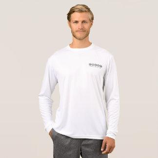 T-shirt Douille des hommes de P.R. de festin la longue