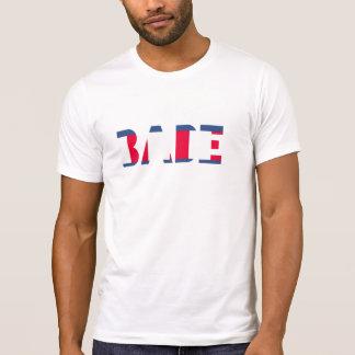 T-shirt Douille du Jersey d'amende américaine de