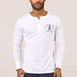 T-shirt Douille Henley des hommes de TFC la longue