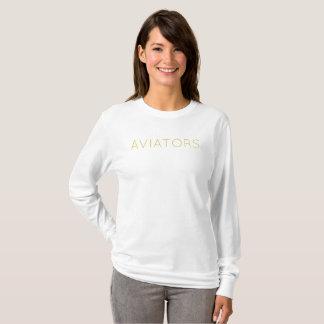 """T-shirt Douille indépendante de """"aviateurs"""" des aviateurs"""