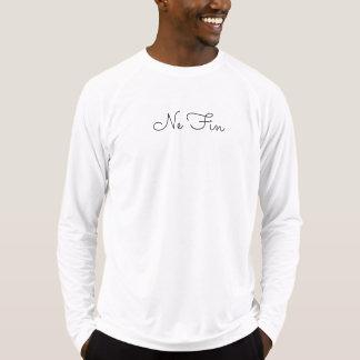T-shirt Douille préétablie d'aileron de Ne longue