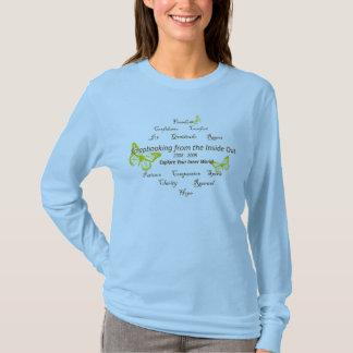 T-shirt Douille T de dames classiques de SFTIO longue