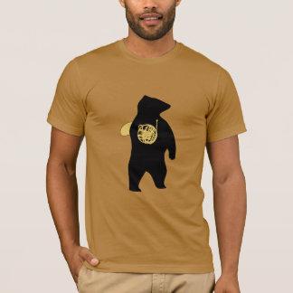 T-shirt d'ours de cor de harmonie