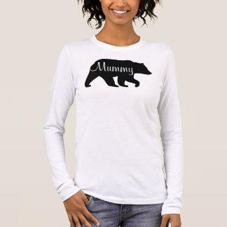 T-shirt d'ours de maman