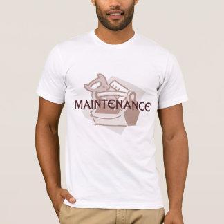 T-shirt d'ouvrier chargé de l'entretien