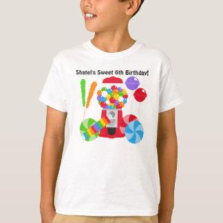 T-shirt doux de coutume d'anniversaire
