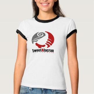 T-shirt doux de sonnerie de dames d'Alacran