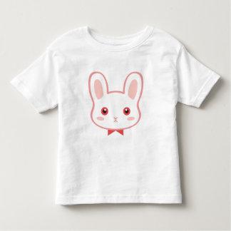 T-shirt doux d'enfant en bas âge de Boya de lapin