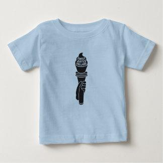 T-shirt doux d'enfant en bas âge de justice