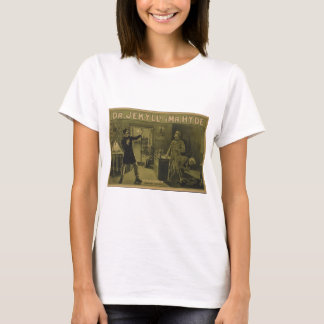 T-shirt Dr. Jekyll et affiche théâtrale 1880 de M. Hyde