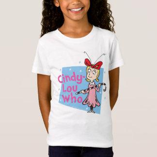 T-Shirt Dr. Seuss   Cindy-Lou qui - sucre de canne