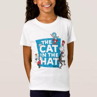 T-Shirt Dr. Seuss | le chat dans le logo de casquette -