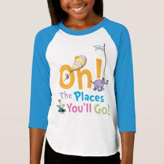 T-shirt Dr. Seuss   oh ! Les endroits vous irez !