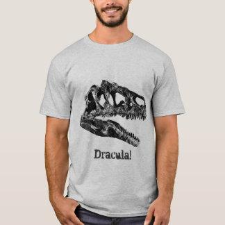 T-shirt Dracula ! Crâne de dinosaure d'Allosaurus