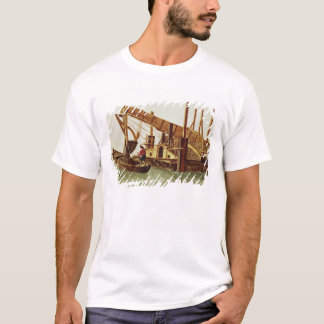 T-shirt Dragage d'un canal
