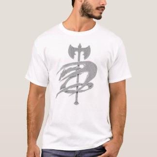 T-shirt Dragon avec la hache