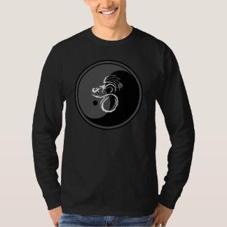 T-shirt Dragon blanc et conception 1 de Yin Yang