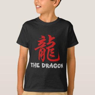 T-shirt Dragon chinois de signe d'astrologie