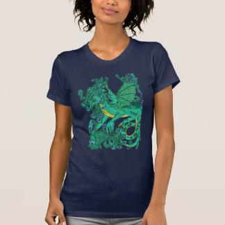 T-shirt Dragon de paon
