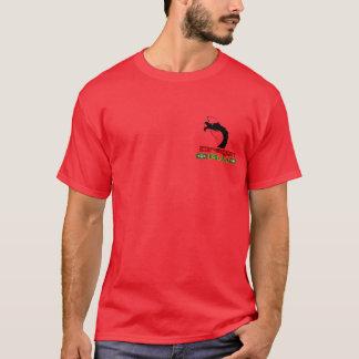 T-shirt Dragon de rouge de Jiu-Jitsu
