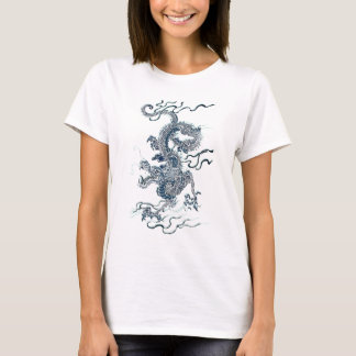 T-shirt Dragon d'eau 2012 noir