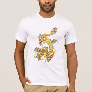 T-shirt Dragon d'or - 09