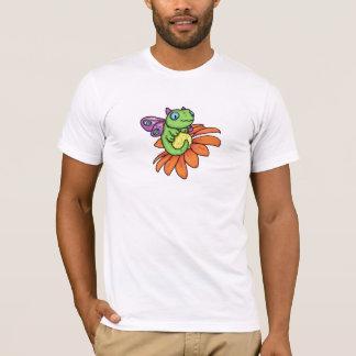 T-shirt Dragon et tournesol féeriques de bébé par Carrie