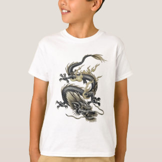 T-shirt Dragon métallique