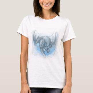 T-shirt Dragon prenant la chemise de vol