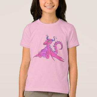 T-shirt dragon rose