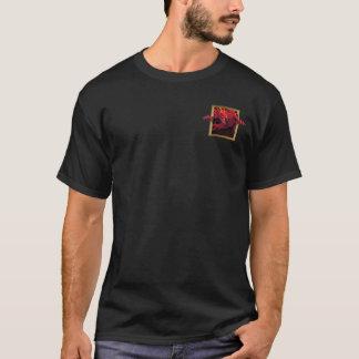 T-shirt Dragon rouge