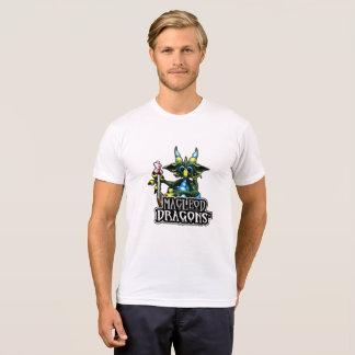 T-shirt Dragon vert de trésor de DM poly/mélange T de