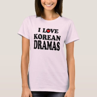 T-shirt Drames coréens