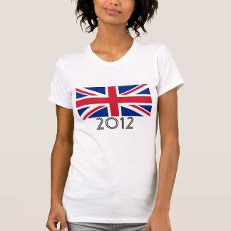 "T-shirt Drapeau ""2012 "" du Royaume-Uni"