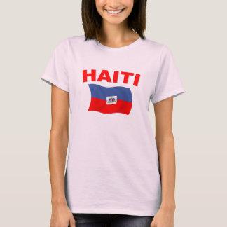T-shirt Drapeau 3 du Haïti