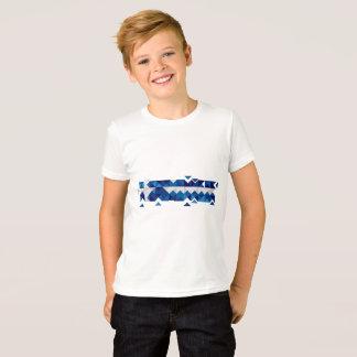 T-shirt Drapeau abstrait de la Grèce, chemise grecque de