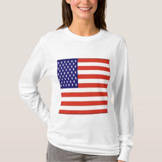 T-shirt Drapeau américain