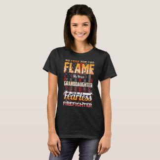 T-shirt Drapeau américain de sapeur-pompier de