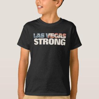 T-shirt Drapeau américain fané fort de sembler vintage de
