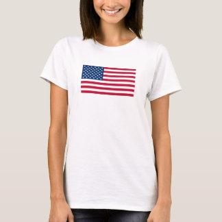 T-shirt Drapeau américain officiel