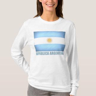 T-shirt Drapeau argentin