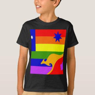 T-shirt Drapeau australien de gay pride