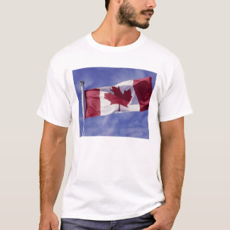 T-shirt Drapeau canadien