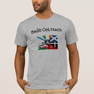 T-shirt Drapeau celtique de fierté des nations