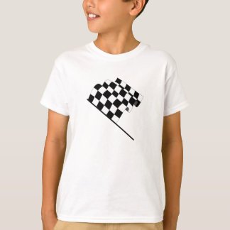 T-shirt Drapeau Checkered