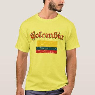 T-shirt Drapeau colombien